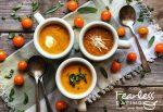 Roasted cherry tomato soup