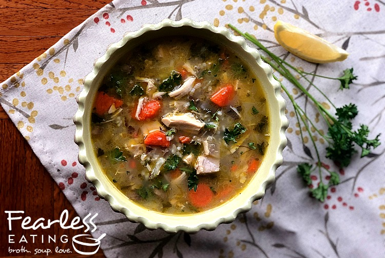 Leftover Thanksgiving Soup Recipe: Turkey Wild Rice Soup
