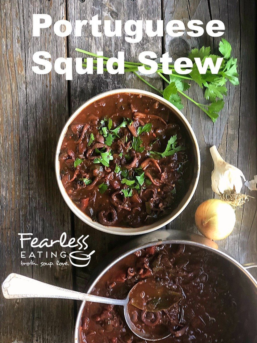 Why and How to Make a Portuguese Squid Stew