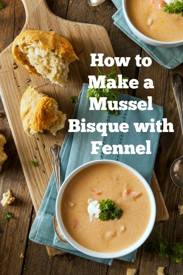 The key to making a great mussel bisque is something most chefs would frown upon. But if you\'re a home cook it will make your mussel bisque taste incredible! 
