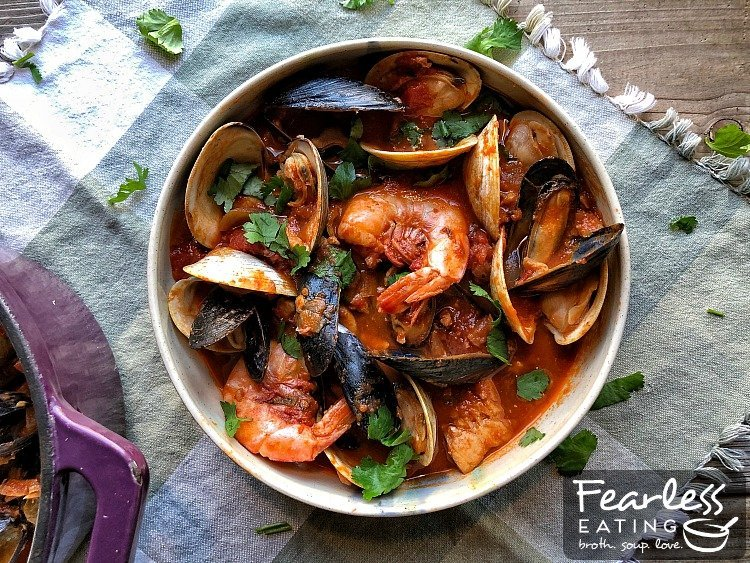 New England Cioppino Fearless Eating