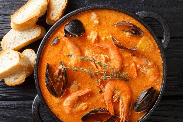 Spanish Seafood Stew (Zarzuela)