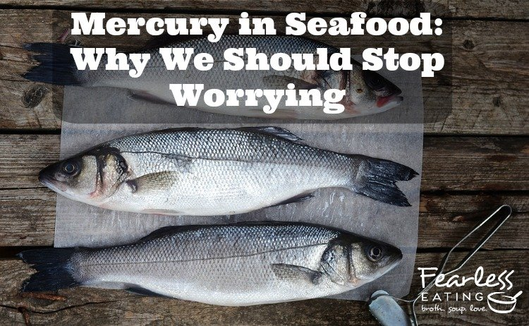 mercury in seafood cover photo