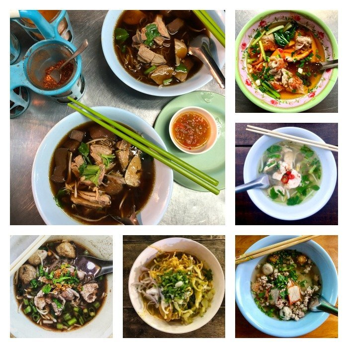 asian noodle soups from thailand