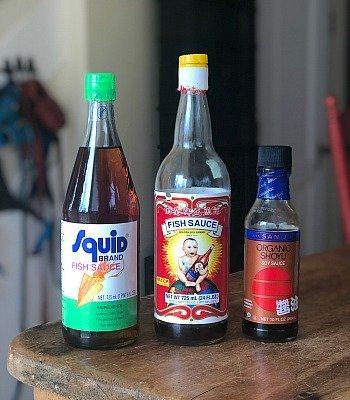 salty seasonings for asian noodle soups