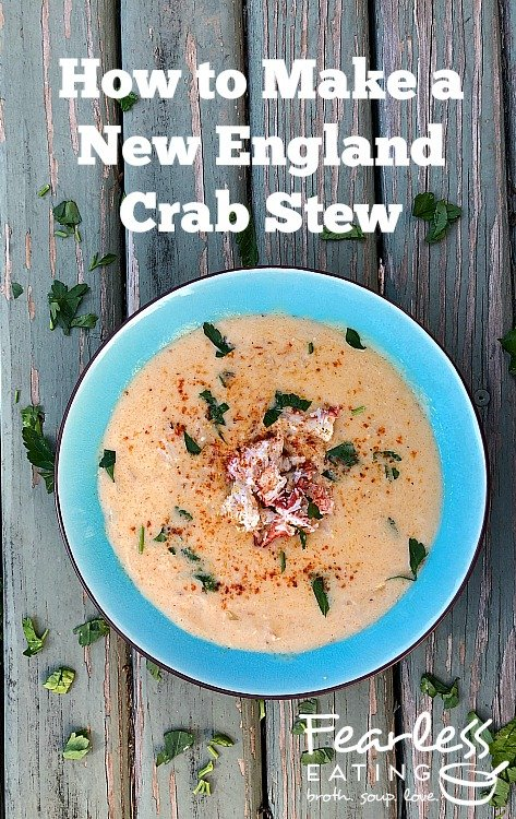 How to Make a New England Crab Stew