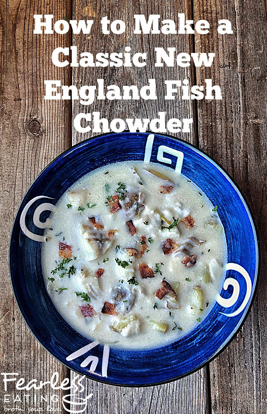 Classic New England Fish Chowder