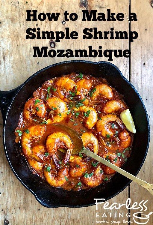 Simple Shrimp Mozambique Recipe