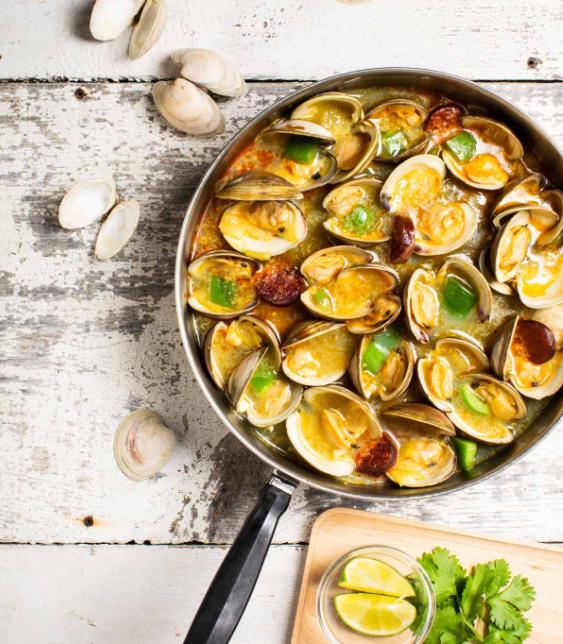 portuguese clam stew