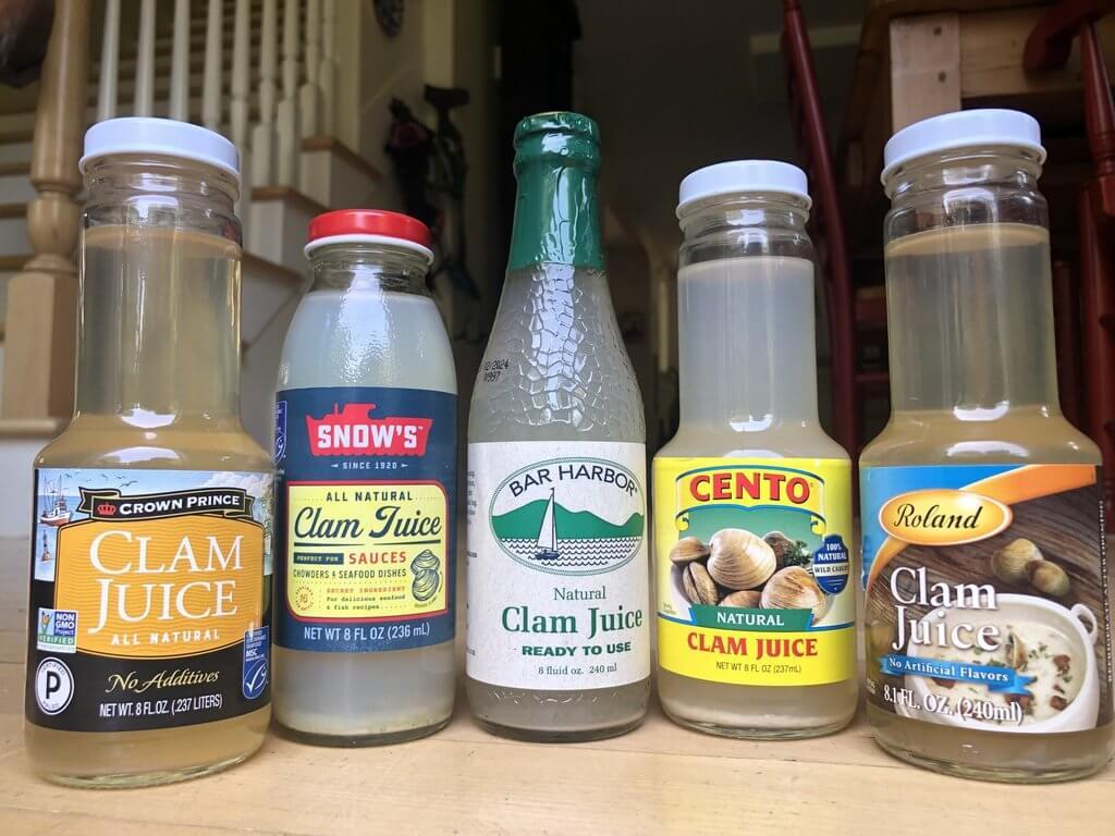 popular bottled clam juice brands