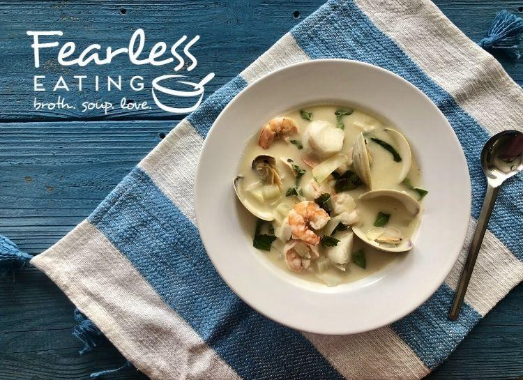 A Simple Seafood Soup Recipe